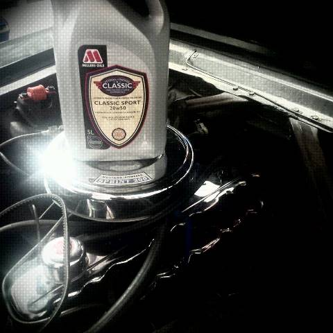 Ford Mustang Millers Oils Lemur Hot Road Garage