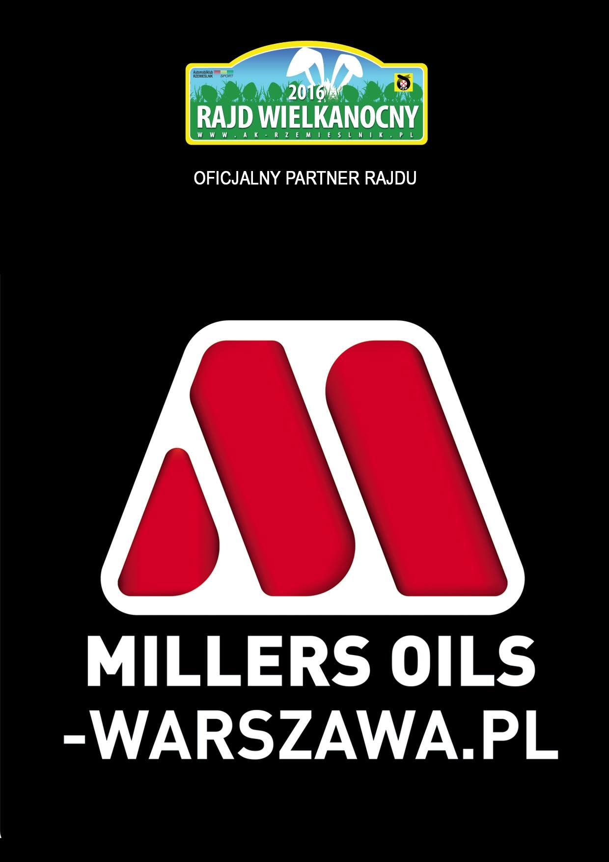 Millers Oils Warszawa Rajd Wielkanocny Automobilklub Rzemieślnik